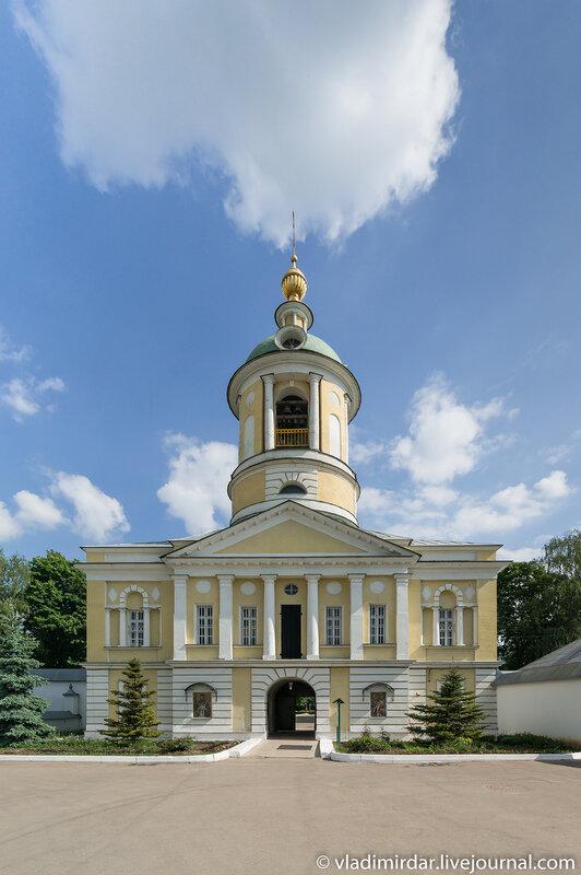Свято-Екатерининский монастырь. Надвратная церковь Димитрия Ростовского.