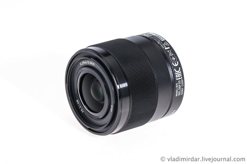Объектив Sony SEL FE 28mm f/2.0