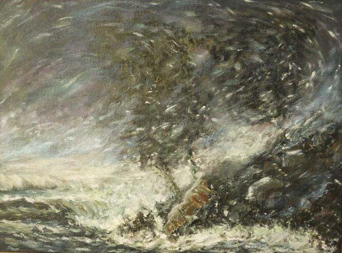 Абстракция шторма
