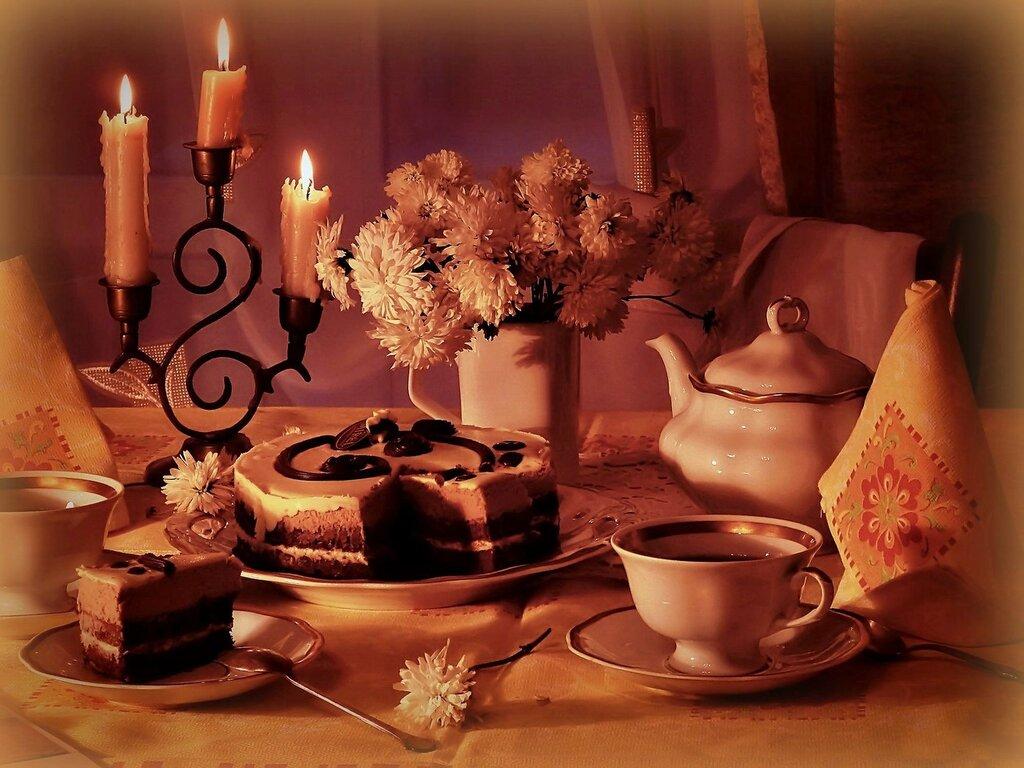 осень - это вечер при свечах...