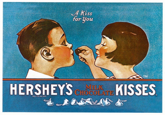 Hershey's 'A Kiss for You', 1920s.jpg