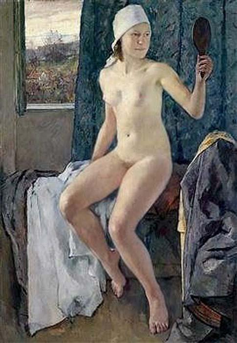 В утреннем свете, Антон Лутц (1894-1992), Австрия