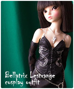Bellatrix outfit for minifee