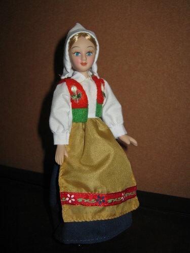 Куклы в Костюмах Народов Мира №27 - Швеция