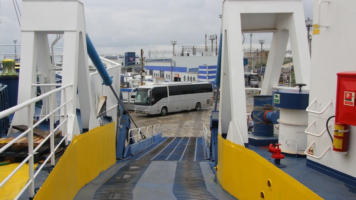 Морское сообщение Крым — Анапа начнет функционировать в апреле 2015