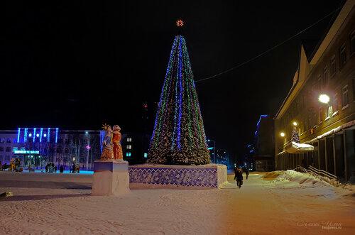Фото города Инта №7461  Горького 14, 21 и 23 18.01.2015_16:52