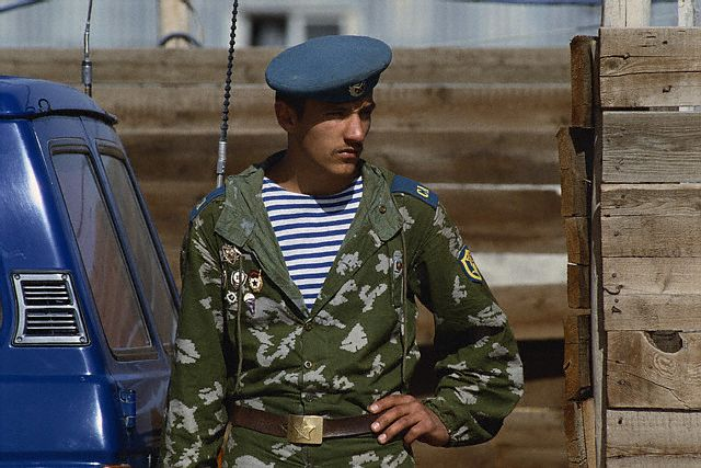 Elite Soviet Soldier in Kabul