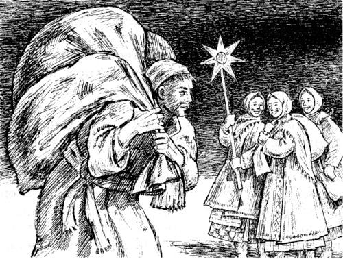 Николай Васильевич Гоголь - Ночь перед Рождеством - Иллюстрация Александра Кузьмина - 2011