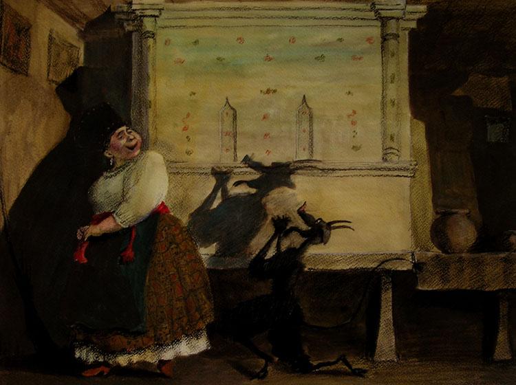 Николай Васильевич Гоголь - Ночь перед Рождеством - Кожин Валерий - Солоха и Черт