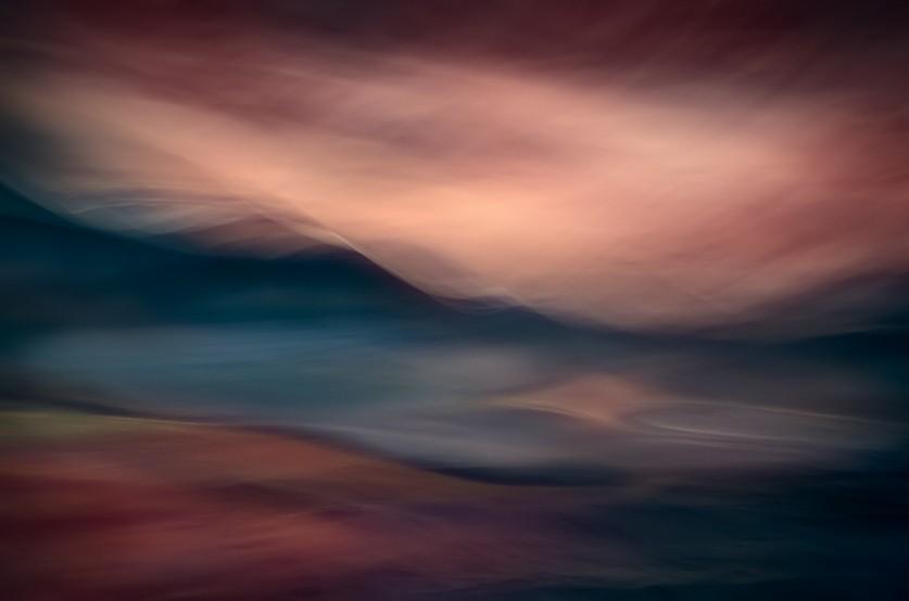 Закат на озере. Автор фото: Урсула Абреш