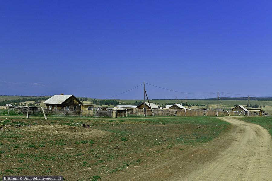 Мыс Хобой - самый север Ольхона
