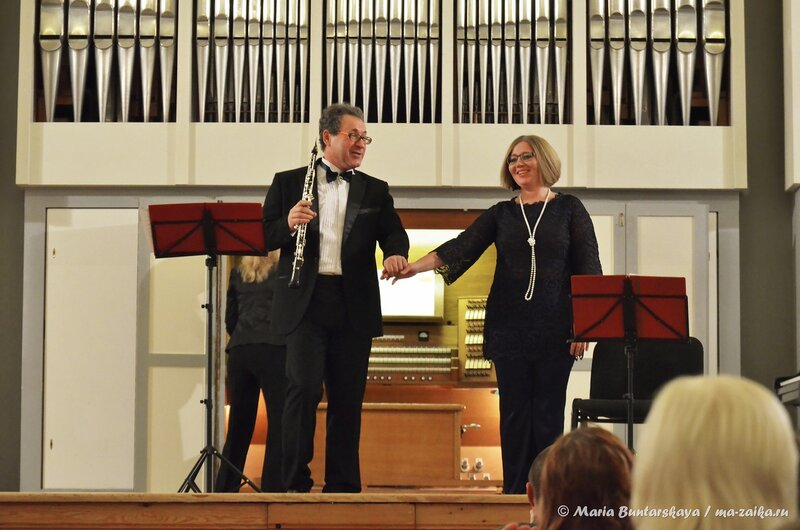 Открытие концертного сезона 'Трио Соната', Саратов, консерватория, 16 ноября 2014 года