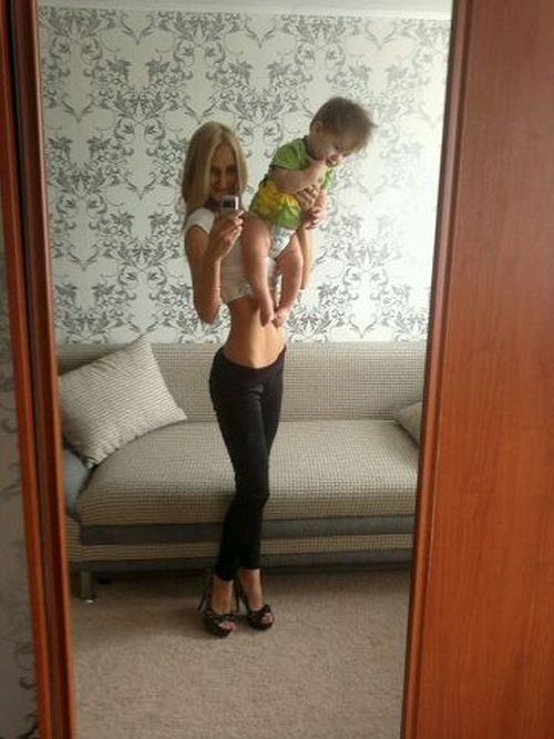 Мамы с идеальными фигурами