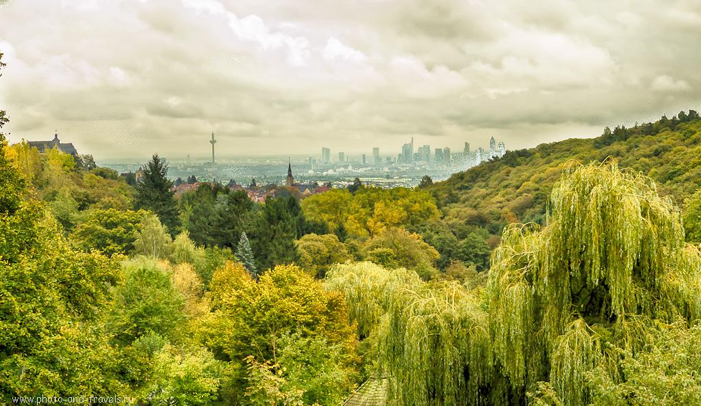 14. Апокалипсис... Вид на Frankfurter Skyline. Отчеты туристов о поездках по интересным местам в окрестностях Франкфурта.