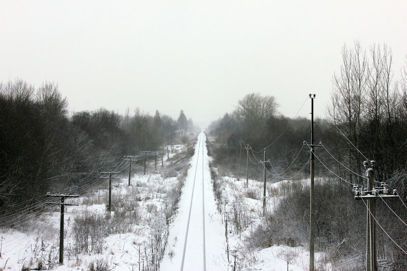 С моста М9 на Мелихово, Ржев