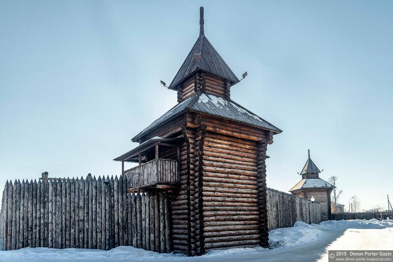 Ялотуровск. Острог
