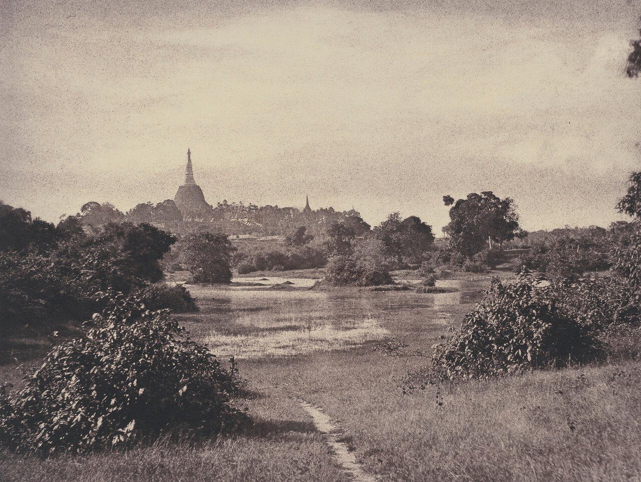 Рангун. Вид на озеро и окрестности