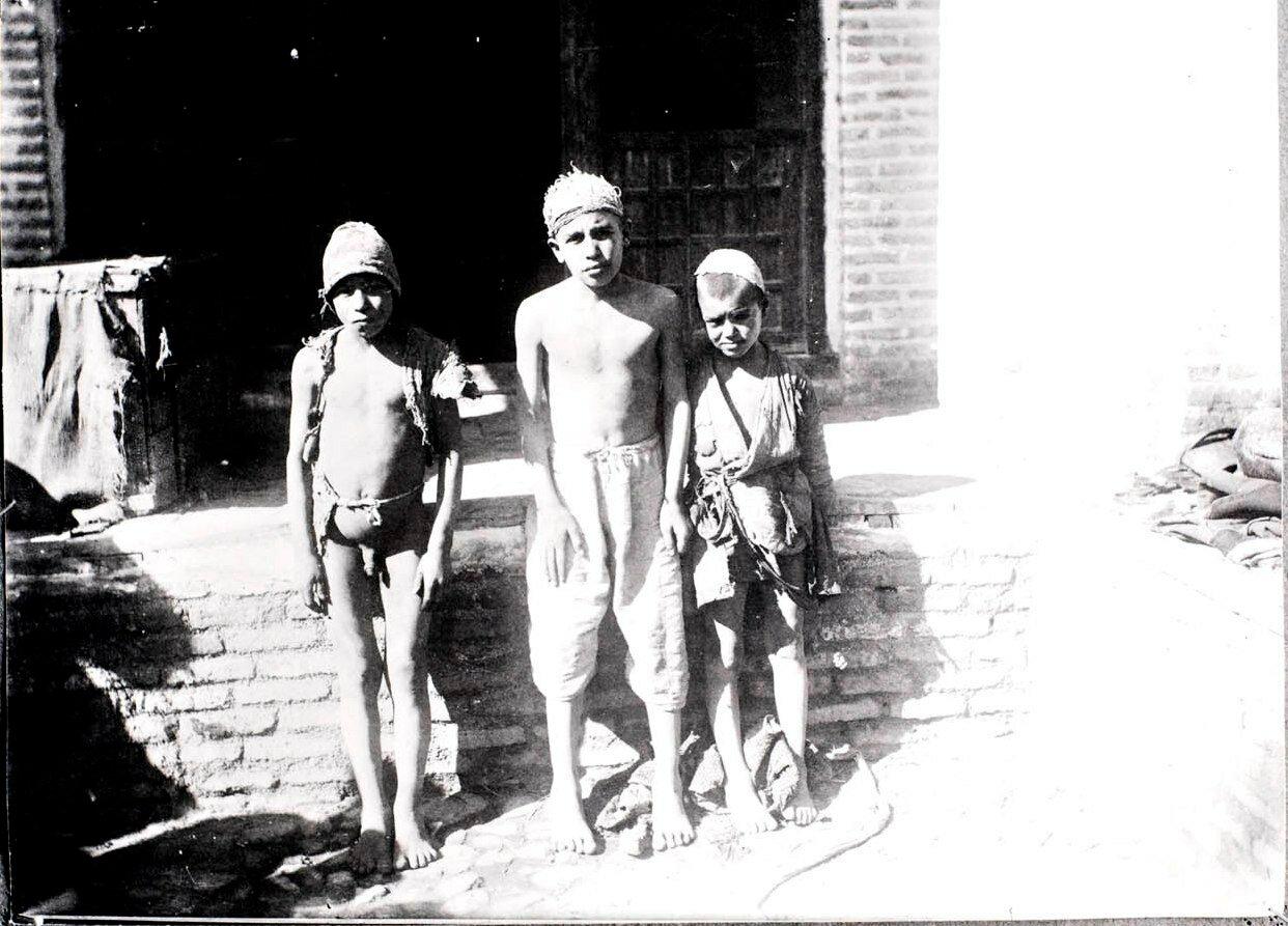 Персидские дети