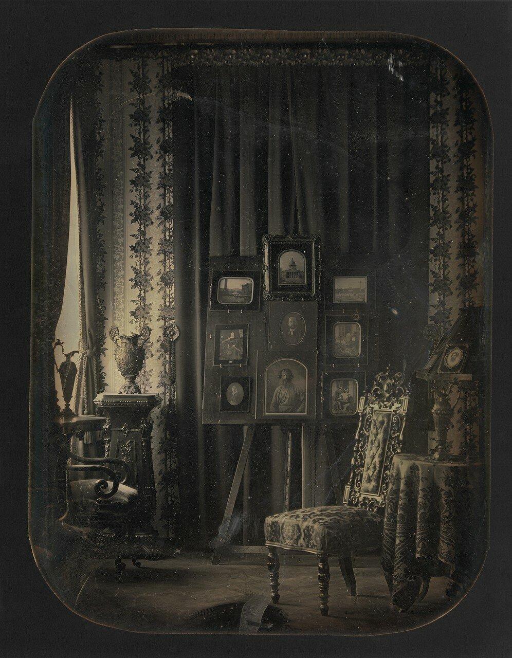 1850-е. Салон барона Гро