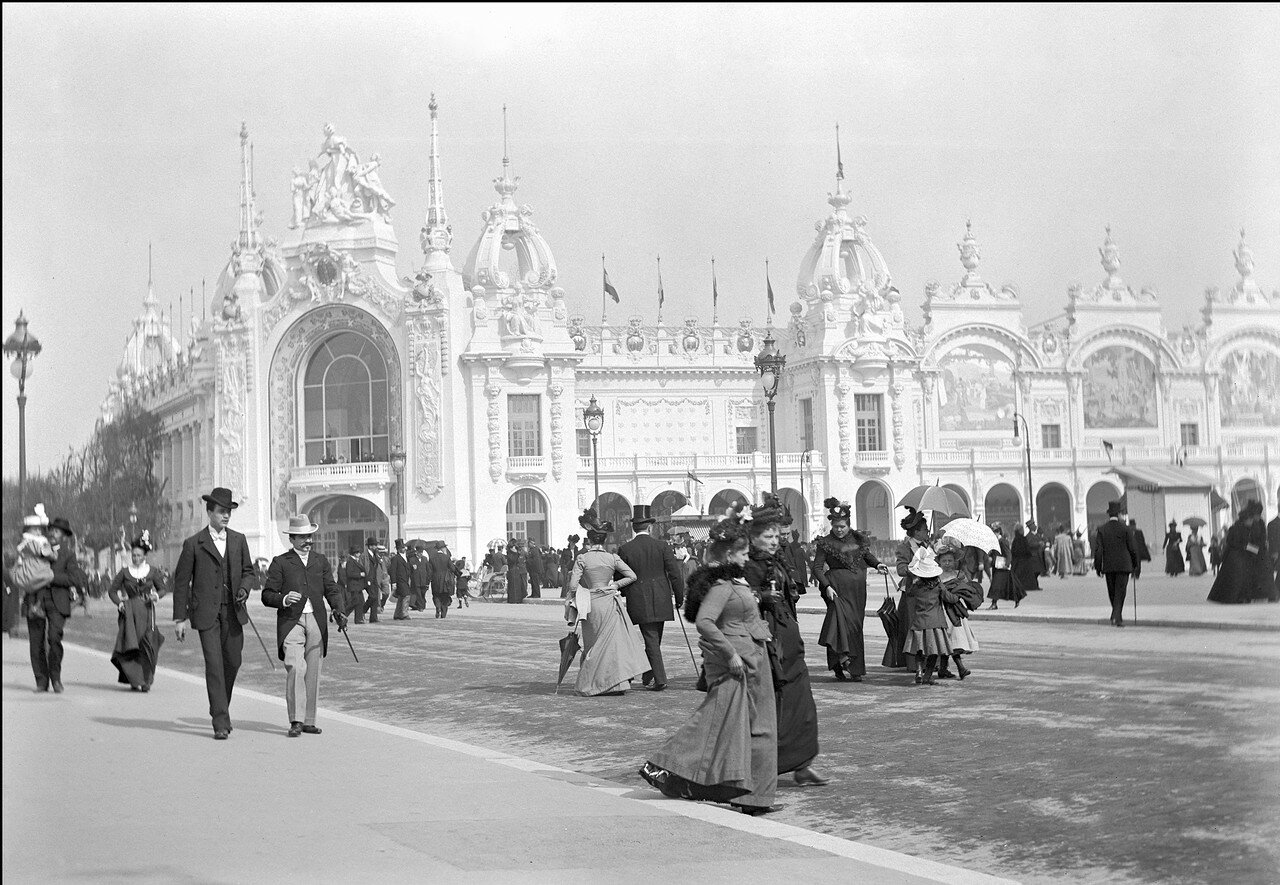 1900. Парижская выставка.  Дворец декоративного искусства
