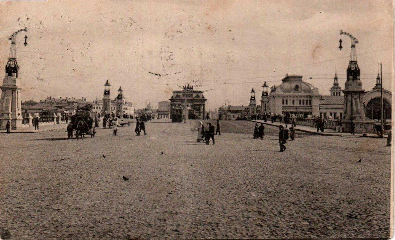 Вид на вокзал