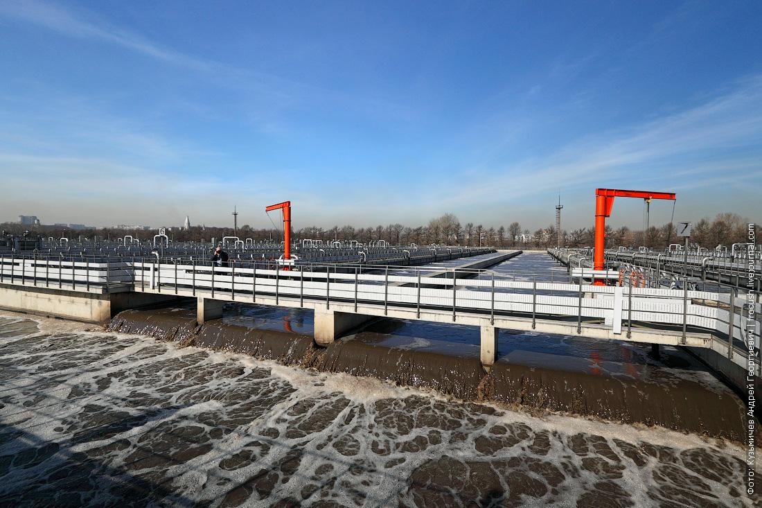 аэротенк курьяновские очистные сооружения фото