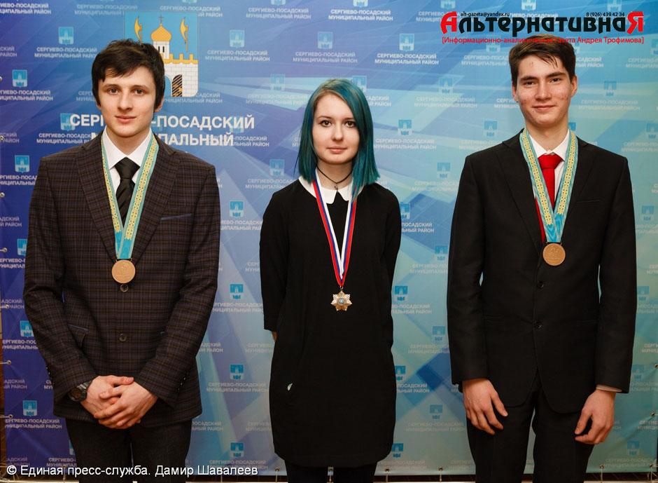 Глава района встретился с победителями олимпиад