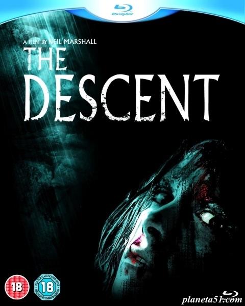 Спуск / The Descent (2005/BDRip/HDRip)