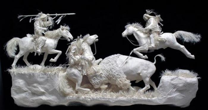 Удивительные скульптуры из бумажной массы 0 115b63 87c230e3 orig
