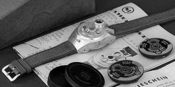 Самые интересные фотокамеры для шпионов всех времен