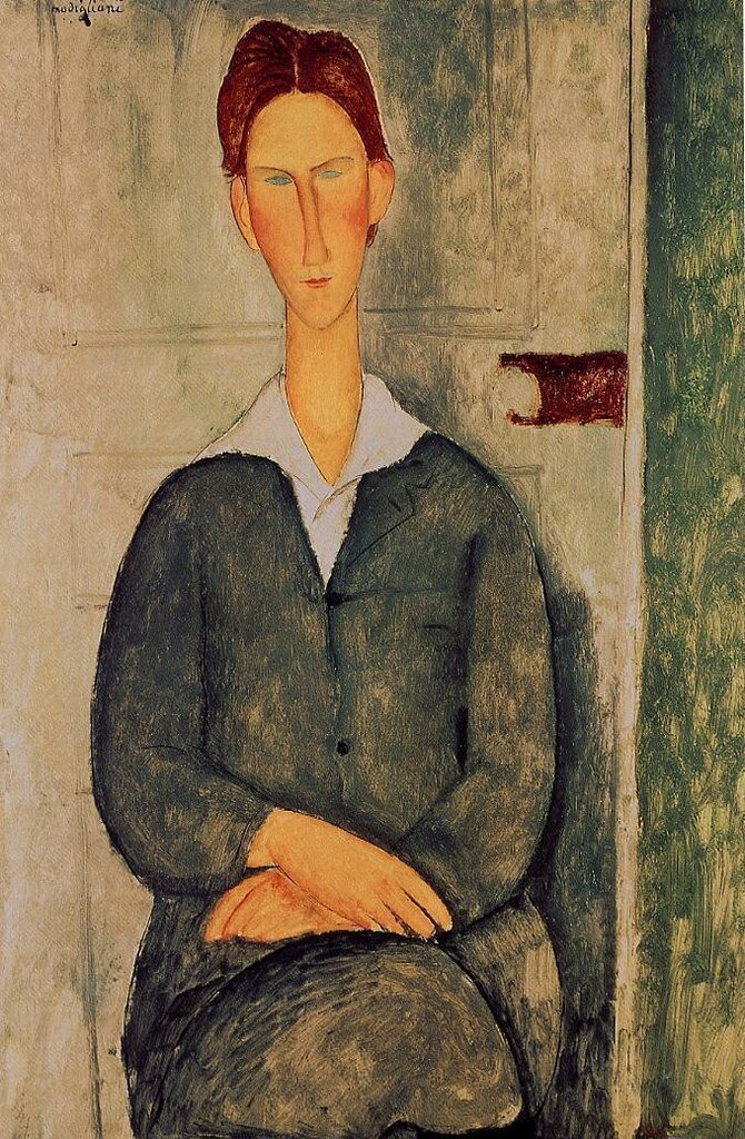 Giovanotto dai Capelli Rosse - 1919 - oil on canvas.jpeg