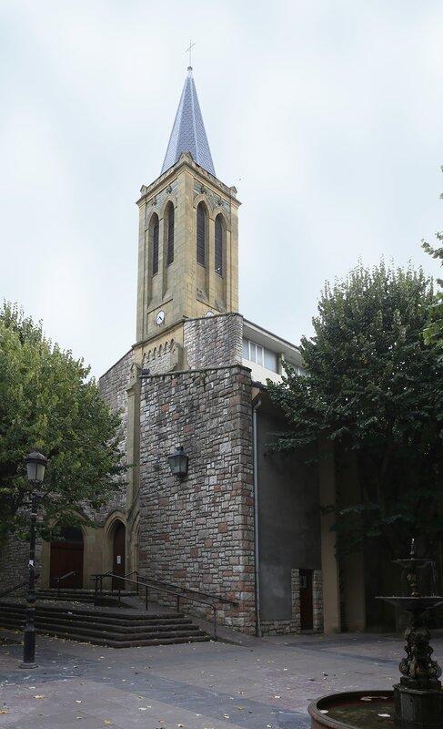 Доностия-Сан-Себастьян. Старая церковь (Parroquia Mártir El Antiguo)