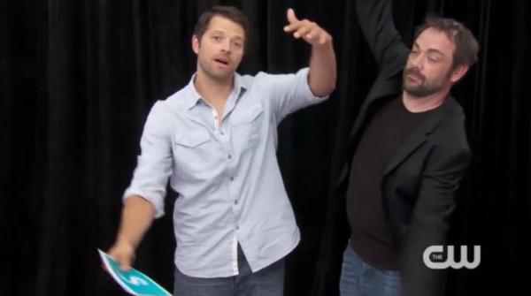 Видео. Миша и Марк отвечают фанатам на Comic Con 2014