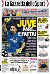 Журнал La Gazzetta dello Sport  (10 dicembre 2014)