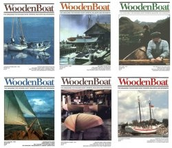Журнал WoodenBoat Magazine Full Year Collection No 1-6 1979