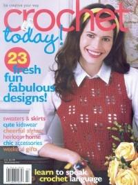 Журнал Crochet Today №4, 2008
