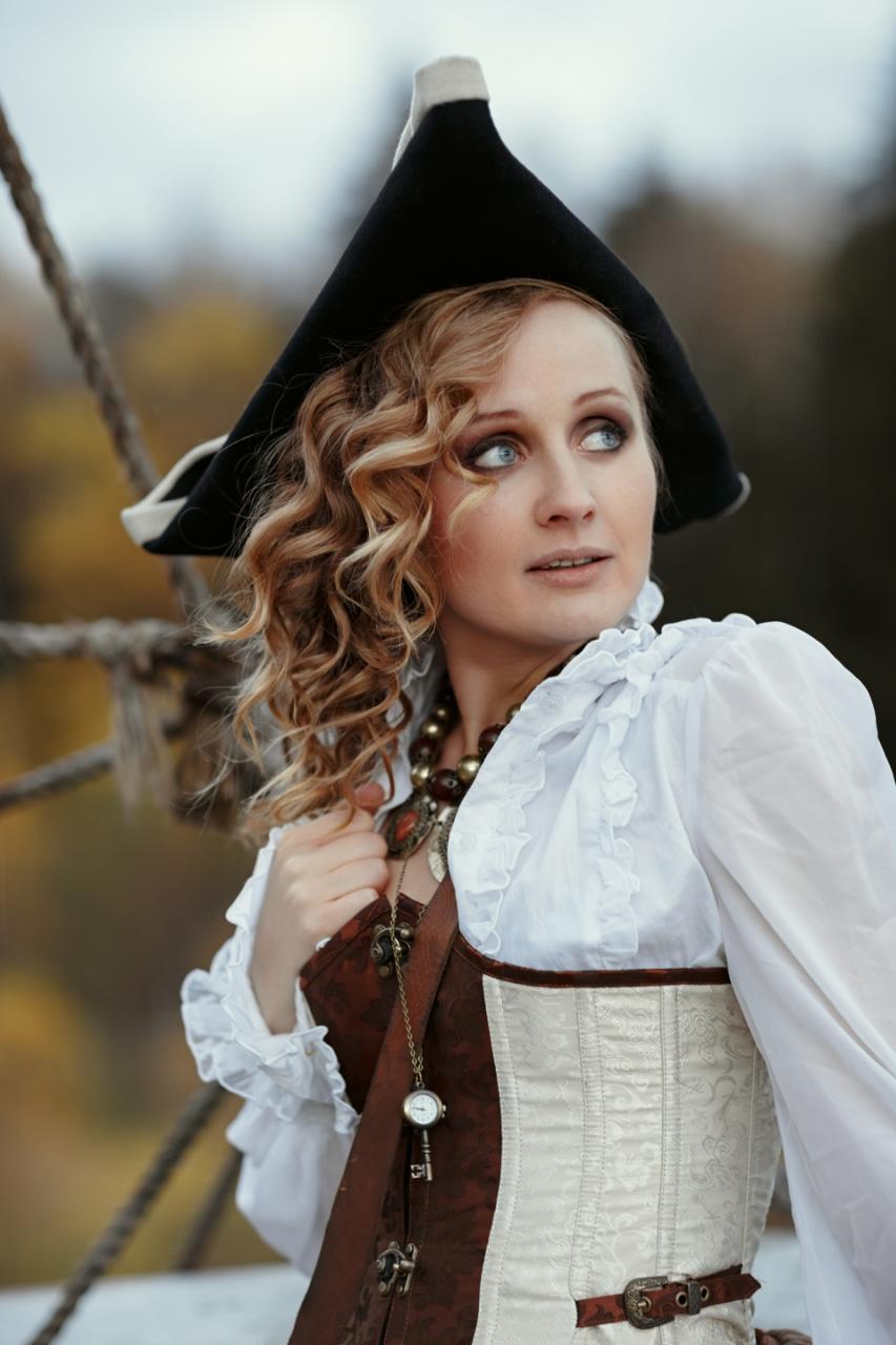 Её боятся все на свете пираты...