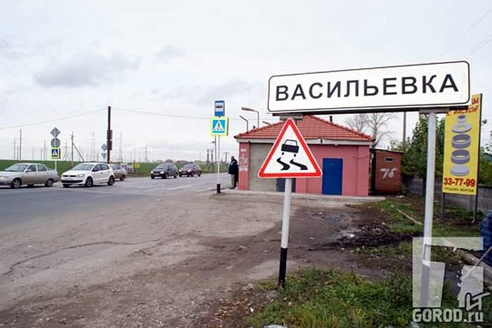 Мордовское село Васильевка
