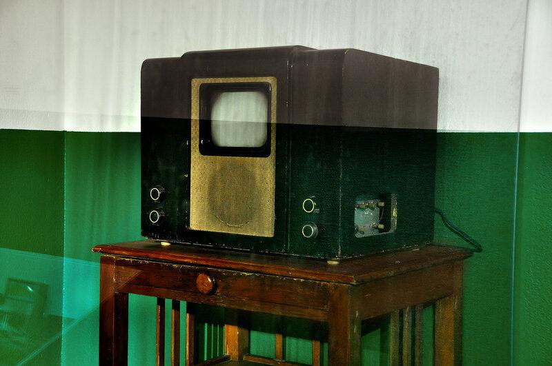 Первый советский телеприемник марки