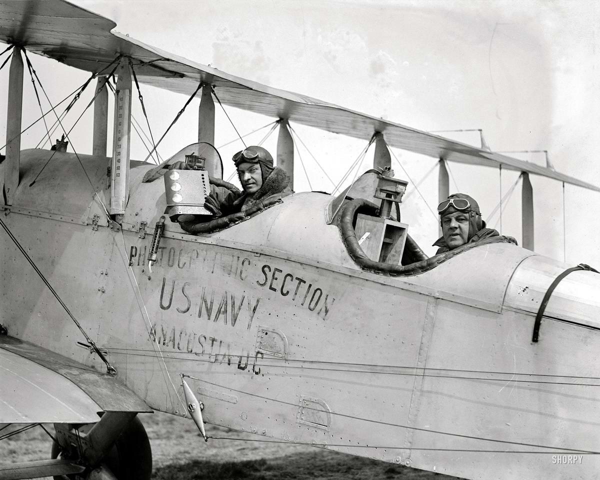 Самолеты и пилоты начала 20-го века на снимках американских фотографов (32)