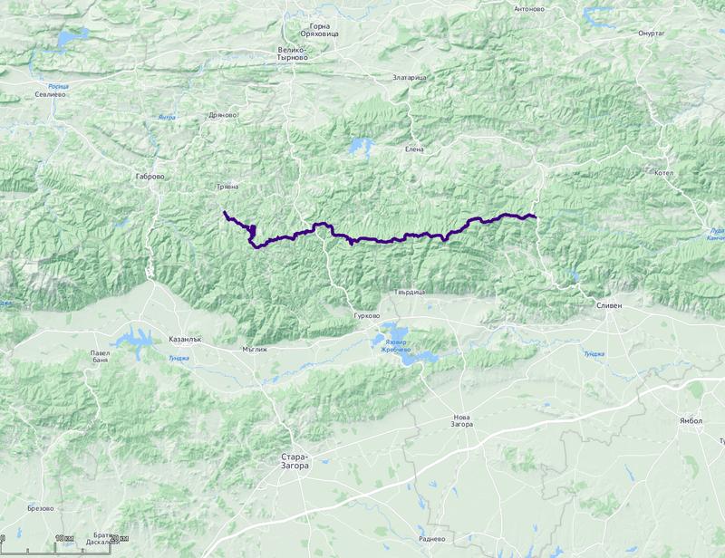пеший поход по Болгарии с младенцем маршрут