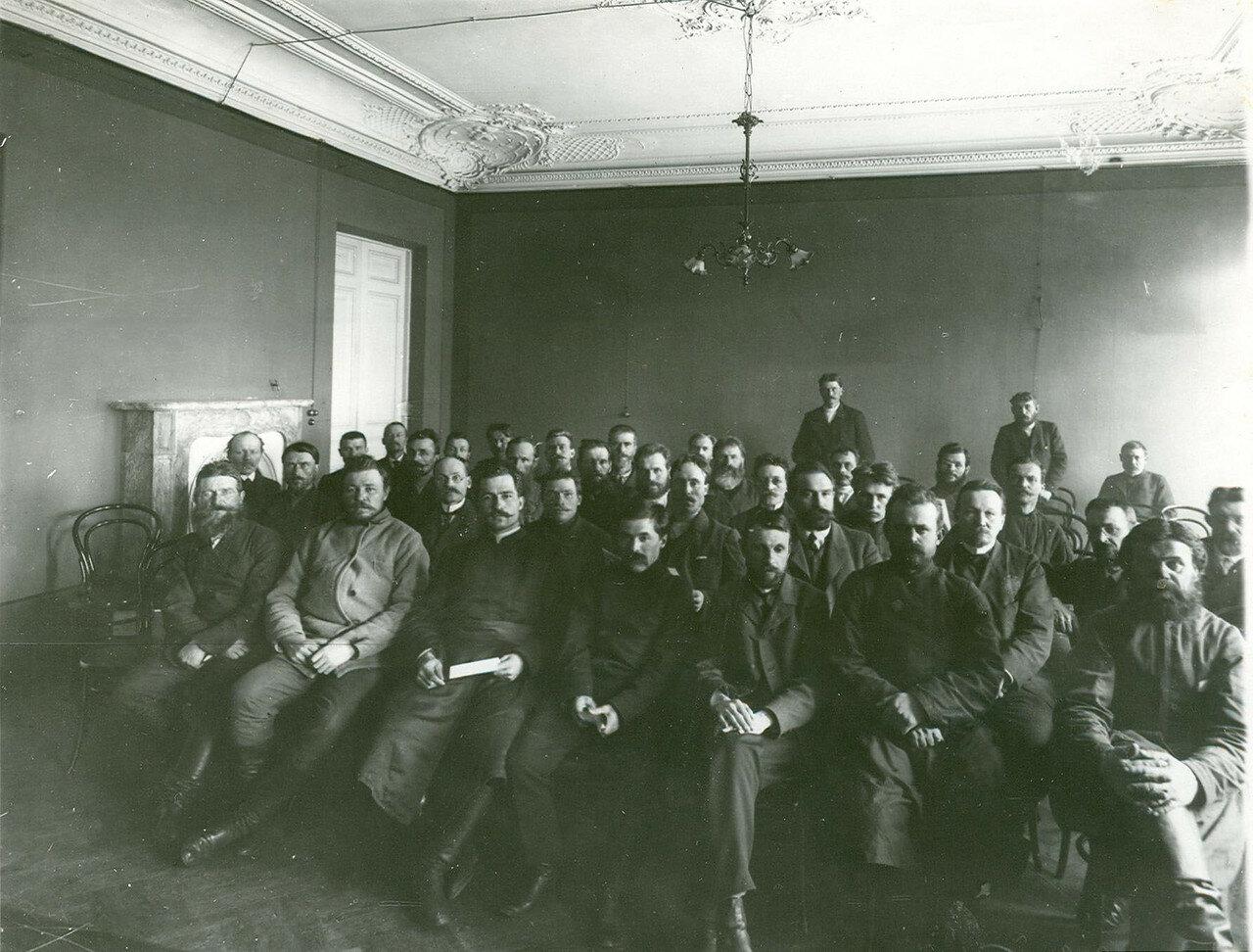 Вид части зала во время заседания Второй Государственной думы