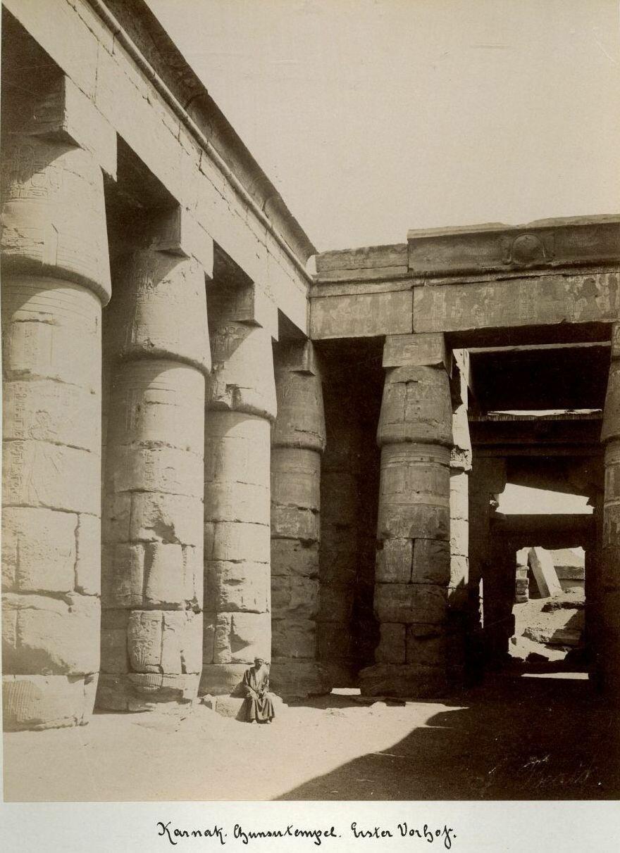 Курна. Храм Сети I