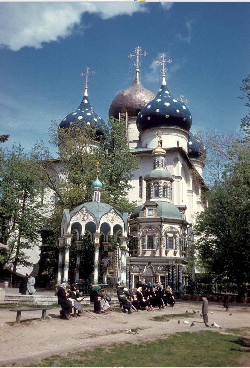 Загорск. Троице-Сергиева лавра. Успенский собор Сергиевой лавры