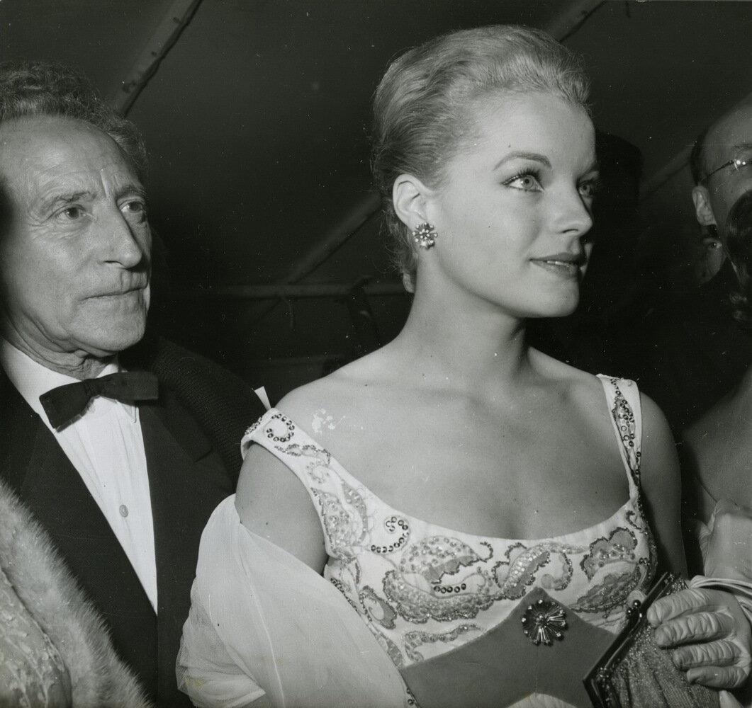 1959. Роми Шнайдер и Жан Кокто