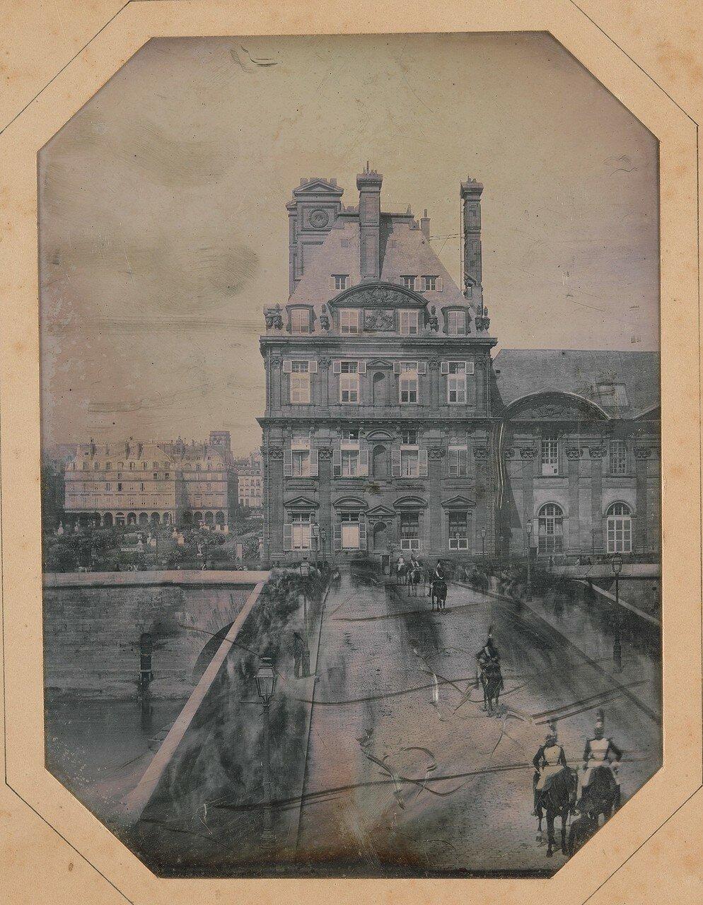 1844. Парад на мосту Руаяль