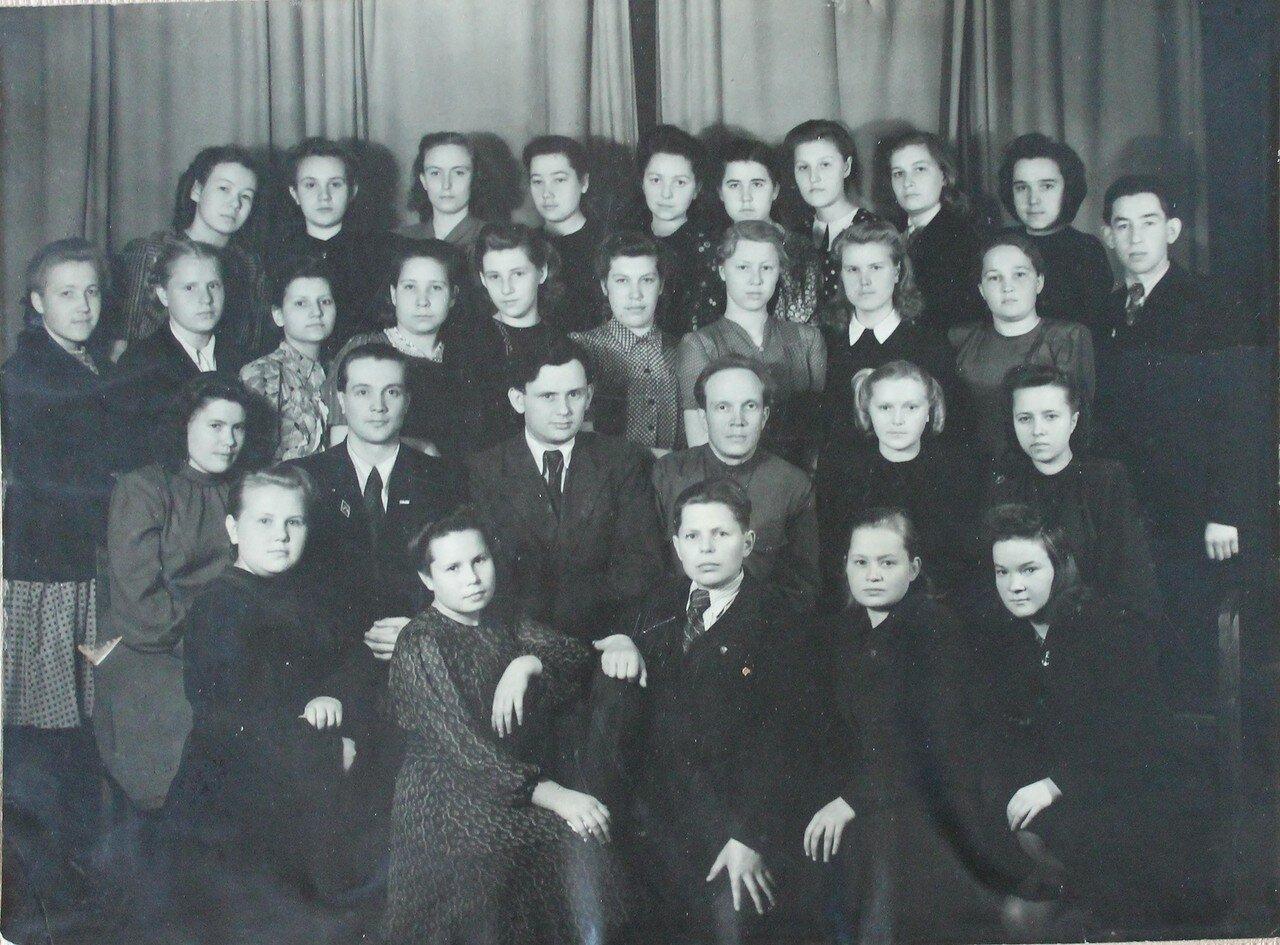 1948-1952. Вологда. Студенты и преподаватели ВГПИ