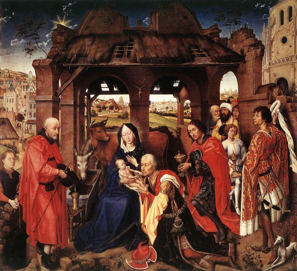 Columba_Altarpiece,_Rogier_van_der_Weyden ок. 1455.jpg