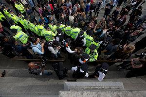 В Лондоне прошла антиправительственная акция