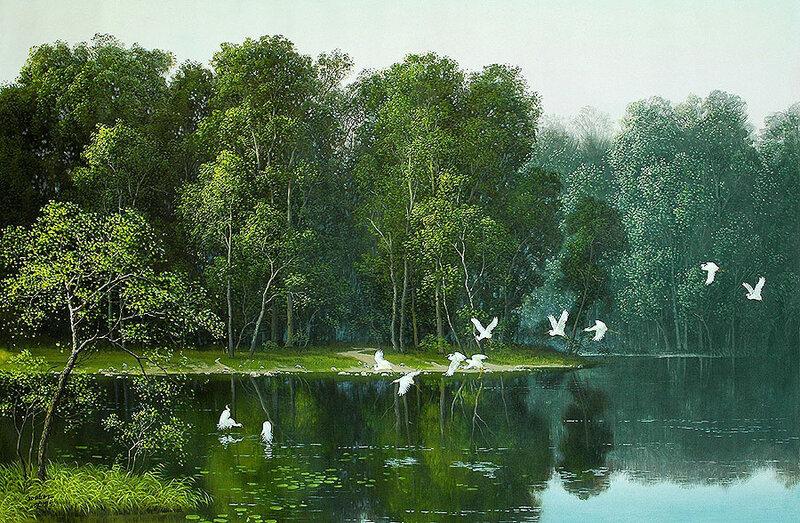 Где-то есть на свете тихая река...